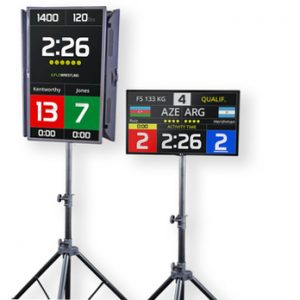 FloWrestling Clocks by Connectel